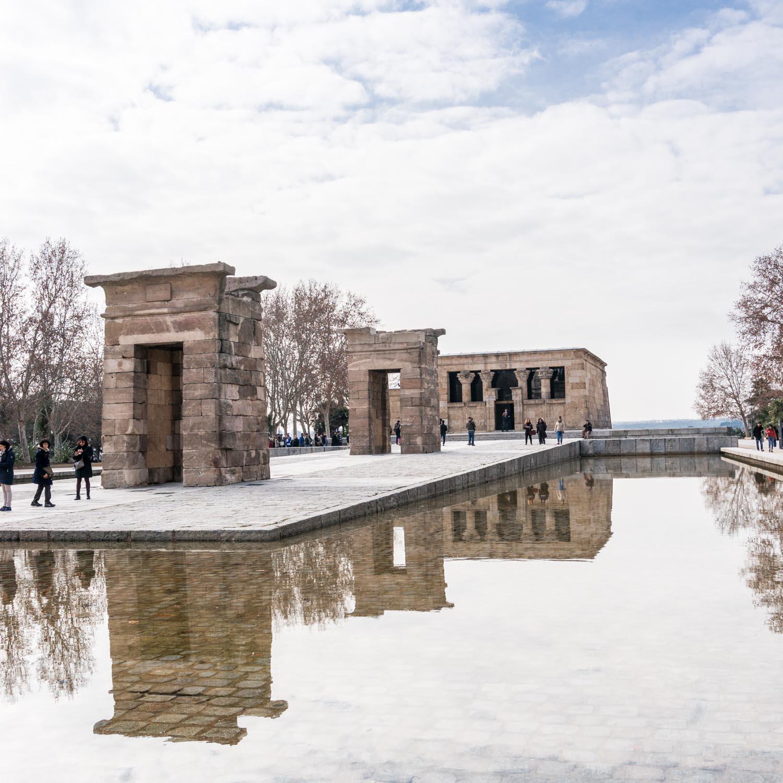 A weekend in Madrid – Templo de Debod