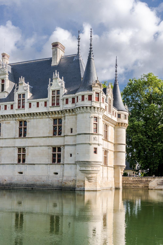 A month in France – Château d'Azay-le-Rideau