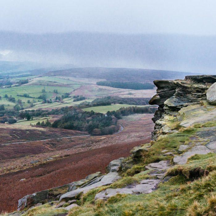 A long weekend road trip – Stanage Edge Peak District