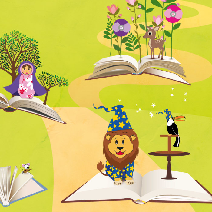BOBBLE ART STORYBOOK CAMPAIGN