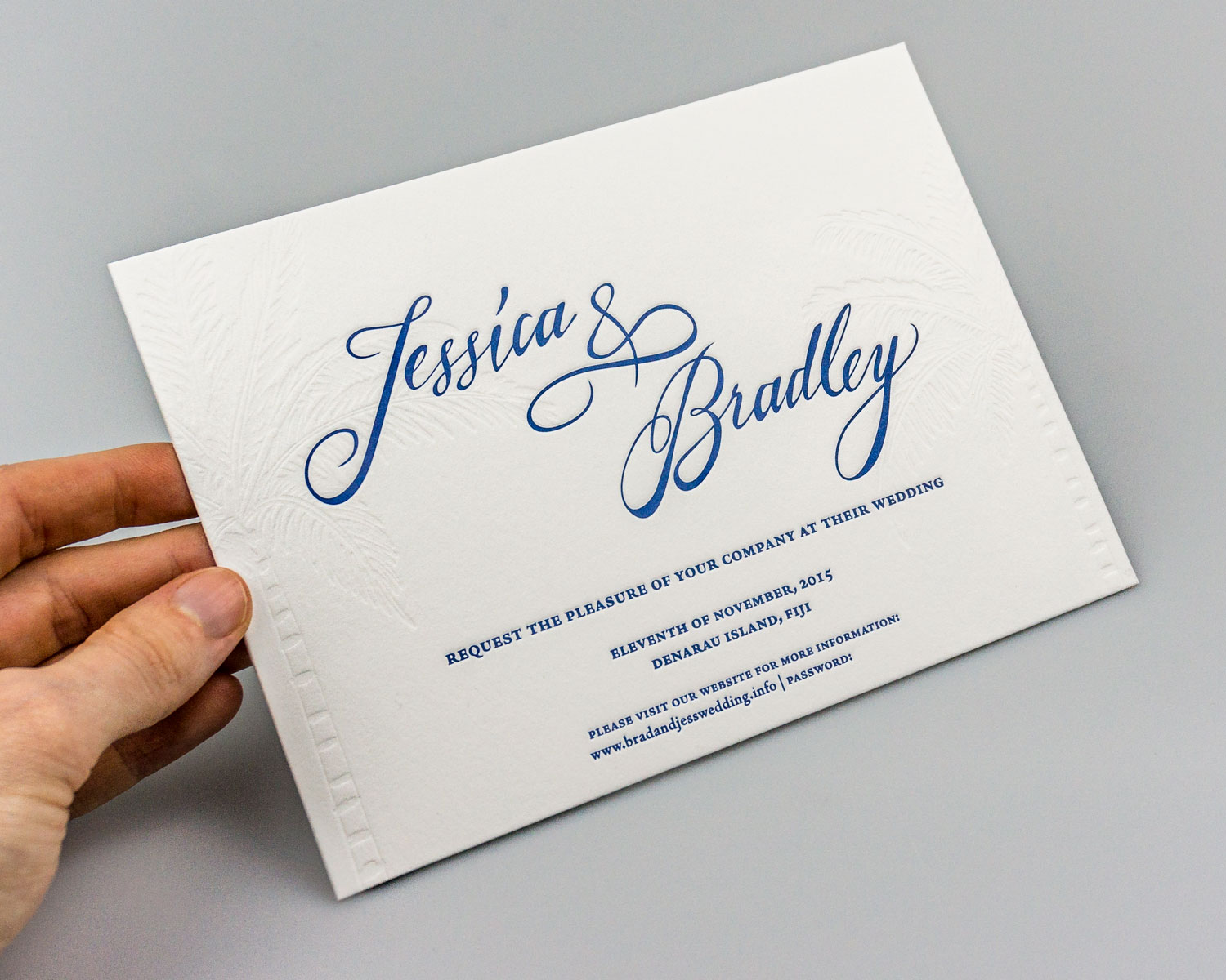 BRAD + JESS WEDDING INVITATIONS | alison richards | graphic designer ...