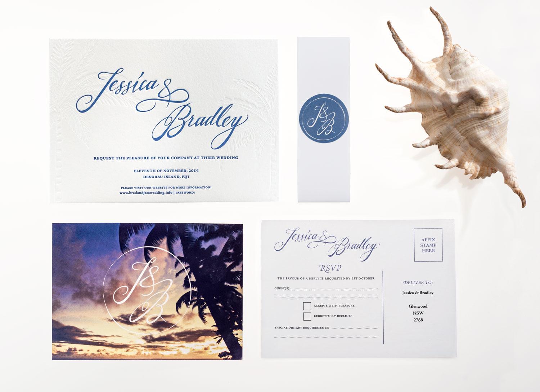 BRAD + JESS WEDDING INVITATIONS | alison richards | graphic designer ...