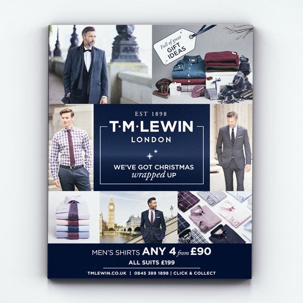 T.M.LEWIN CHRISTMAS CATALOGUE